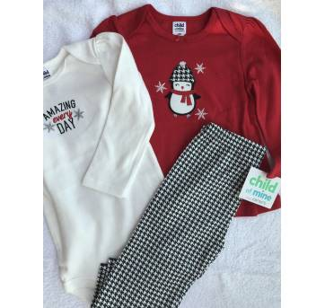 conjunto 3 peças  - Child of mine by Carters -  18 meses - 18 meses - Child of Mine