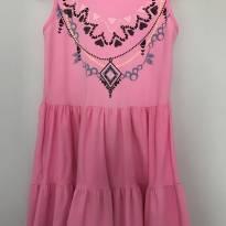 Vestido rosa - Malwee - 6 anos - Malwee