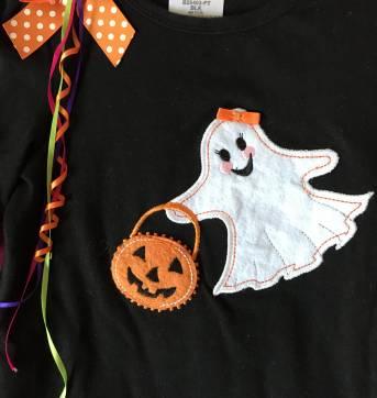 Blusa / bata halloween - Bonnie Jean - 4 anos - Bonnie Jean