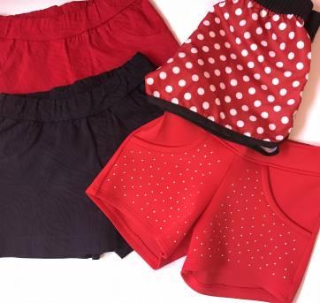 Kit com 4 shorts - 4 anos - Não informada