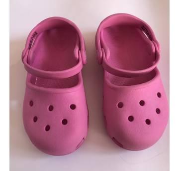 Crocs - modelo Karin  - Rosa - tamanho 25 - 25 - Crocs