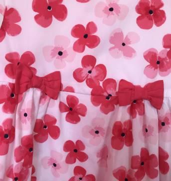 Vestido floral Gymboree - 3 anos - Gymboree