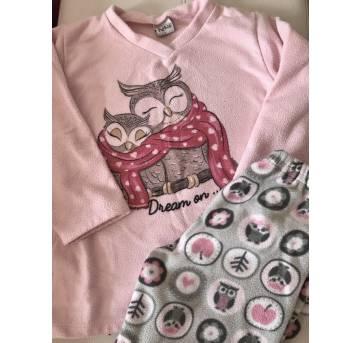 Pijama  inverno / soft - 6 anos - KiKA
