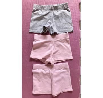 3 shorts cotton - 4 anos - 4 anos - Não informada