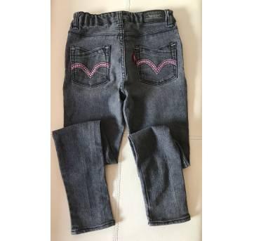 Calca jeans Levis - Skinny -  original -  6 anos - 6 anos - Levi`s