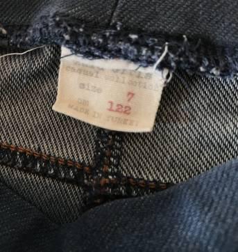 Calça legging Zara - cor jeans - 7 anos - Zara