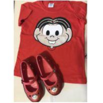 Kit Mônica - Crocs original + camiseta - 26 - Crocs