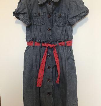 Vestido jeans - Gymboree - 5 anos - Gymboree