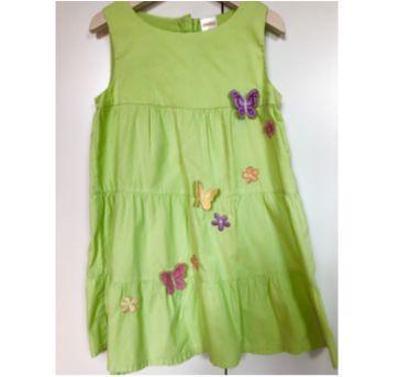 Vestido verde borboletas - Gymboree - 4 anos - Gymboree