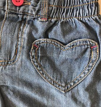 Short jeans Carters - 6 anos - Carter`s