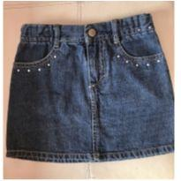 Mini  saia jeans - Gymboree - 5 anos - Gymboree