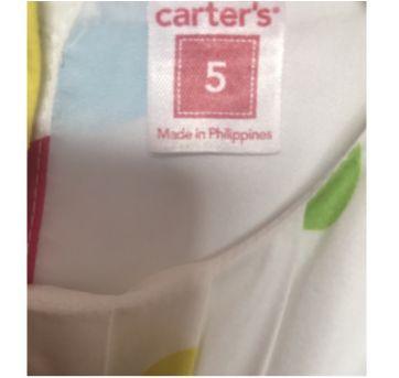 Vestido Carters - Lindo !!! - 5 anos - Carter`s