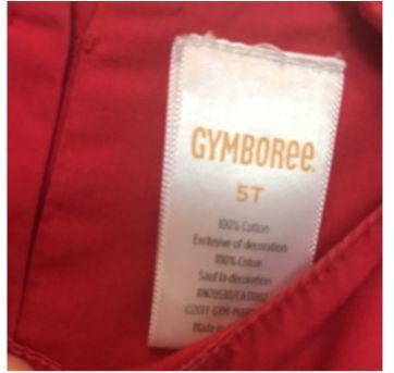 Vestido gymboree -  Cherry - 5 anos - Gymboree