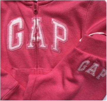 Conjunto Gap - moletom pink - 6 anos - GAP