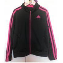 Casaco preto e pink Adidas - original - 6 anos - Adidas