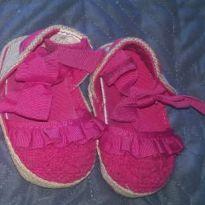 sapatilha pink (tamamho 13 = 10cm = 0 a 2 meses) - 13 - Koala Baby e Koala Kids