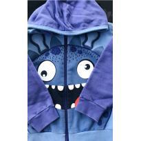 Casaco Azul Monsters - 3 anos - ZigMundi