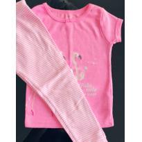 Pijama Flamingo Carters - 2 anos - Carter`s