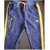 Calça azul e laranja Oshkosh - 3 anos - OshKosh