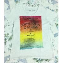 Camiseta John John - 6 anos - John John