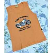 Regata moto laranja - 6 anos - Jaca lele