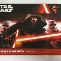 Quebra-Cabeça Panorâmico - Disney Star Wars - 250 Peças - NOVO e LACRADO!!! - Sem faixa etaria - Disney