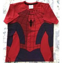 Camiseta Homem Aranha - 8 anos - Spider Man