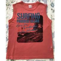 Camiseta Regata Surf - 8 anos - Bradili