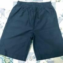 Shorts azul marinho - 8 anos - Hering Kids