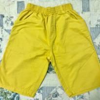 Shorts amarelo - 6 anos - Milon