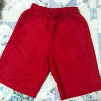 Shorts Vermelho - 8 anos - Hering Kids