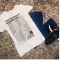 Camiseta Armani - 12 anos - Zara