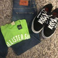 Camiseta Hollister - 14 anos - Hollister