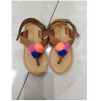 sandália de couro Carter`s - 22 - Carters - Sem etiqueta