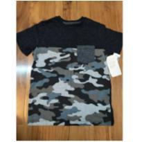 camisa Fashion camuflada - 6 anos - Fuzarka