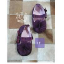 Sapatinho Baby Luxo - 18 - Sem marca