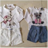conjuntinhos chic baby - 3 a 6 meses - Infantilândia e Carinhoso Baby e outras