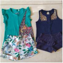 Conjuntinhos Princess Fashion - 9 a 12 meses - Baby Club
