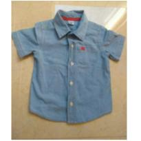 Camisa Carters Jeans - 18 meses - Carter`s