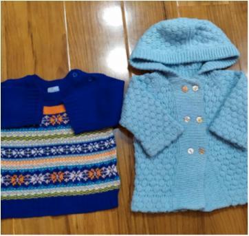 Cardigans para Bebê - 3 meses - Place e Teddy Boom