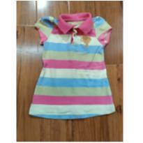 blusa polo listradinha - 18 meses - Lilica Ripilica
