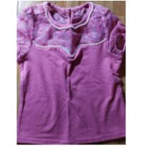 blusinha renda e  pérolas - 3 anos - Carinhoso