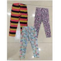 trio de legging estampadas - 2 anos - Baby Club e Poim, Cherokee e Up Baby