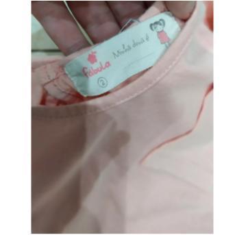 blusa rosé babadinhos - 2 anos - Fábula