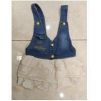 salopete jeans lilica ripilica - 6 meses - Lilica Ripilica