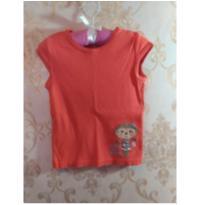 blusinha macaquinha carter`s - 2 anos - Carters - Sem etiqueta