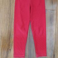 Legging Vermelha - 3 anos - Sem marca
