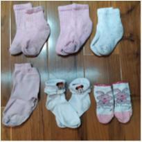 lote de meias kids - 12 a 18 meses - lupo e outras