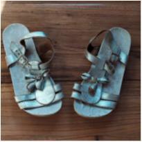 sandália dourada pampili - 27 - Pampili