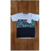 T-Shirt Folhagem Kids - 14 anos - Fuzarka